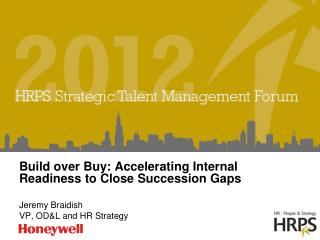 Build over Buy: Accelerating Internal Readiness to Close Succession Gaps