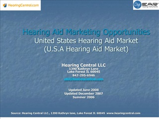hearing aid marketing opportunities united states hearing aid ...