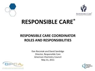 How Responsible Care  Enhances ACC Membership