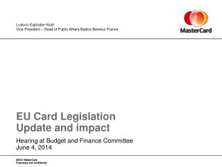 EU  Card Legislation Update and impact