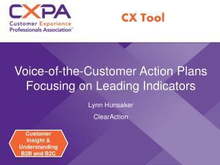 Customer Insight & Understanding B2B and B2C