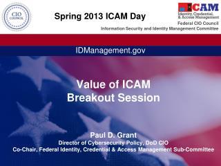 Spring  2013 ICAM  Day