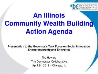 An Illinois  Community Wealth Building Action Agenda