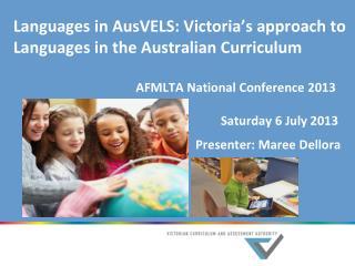 Languages in the Victorian curriculum