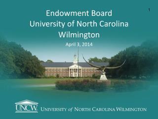 Endowment Board University of North Carolina
