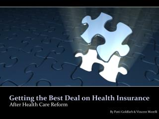 Getting the Best Deal on Health Insurance