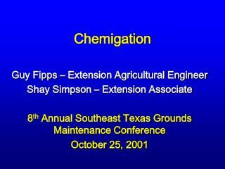 chemigation
