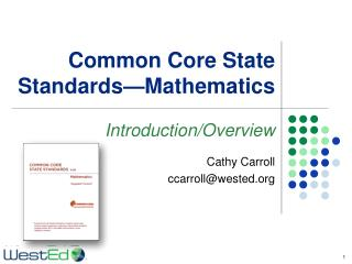 Common Core State Standards—Mathematics