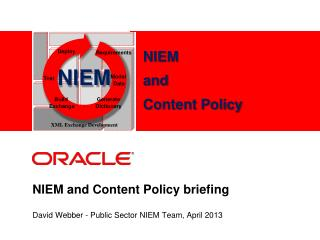 NIEM and  Content Policy  briefing