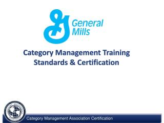 Category Management Training Standards & Certification