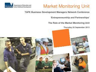 Market Monitoring Unit