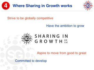 Where Sharing in Growth works