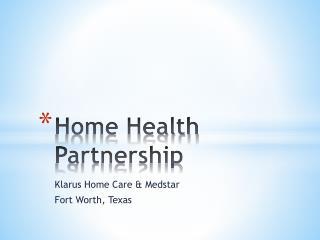 Home Health Partnership