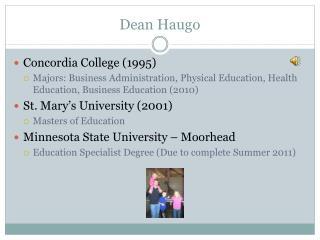 Dean Haugo