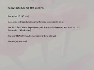 5 minute Summary of 10.1!