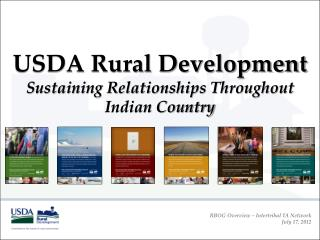 USDA Rural Development Sustaining Relationships Throughout Indian Country