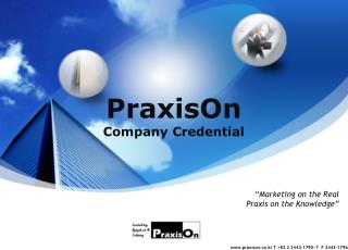 PraxisOn Company Credential