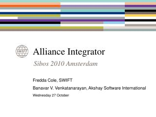 alliance integrator