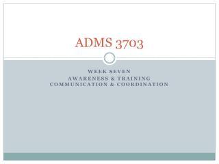 ADMS 3703