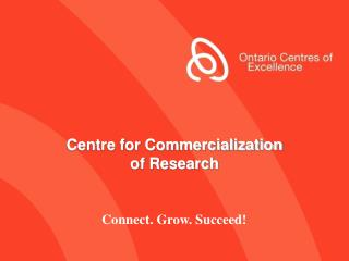 Centre for Commercialization of Research