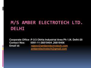 ms amber electrotech ltd. delhi