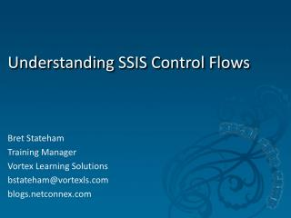Understanding SSIS Control Flows