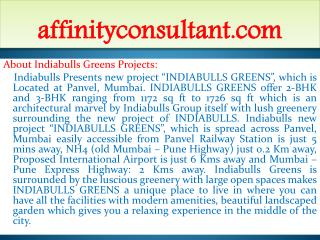 panvel new property at mumbai !91-9999684166! indiabulls