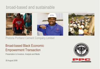 Broad-based Black Economic Empowerment Transaction