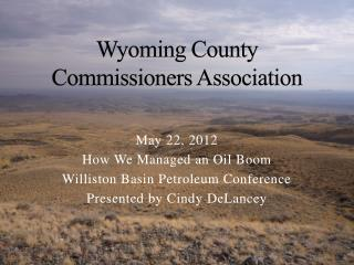 Wyoming County  Commissioners Association