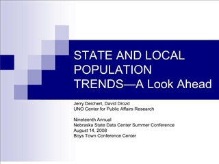 state and local population trends