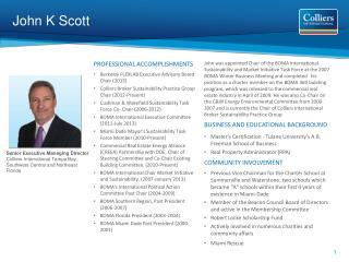 John K Scott