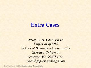 Extra Cases