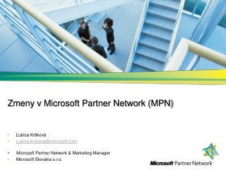 Zmeny v  Microsoft Partner Network (MPN)