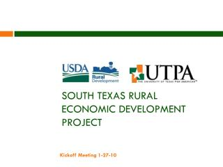 South Texas Rural Economic Development Project
