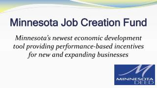Minnesota Job Creation Fund