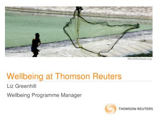 Wellbeing at Thomson Reuters