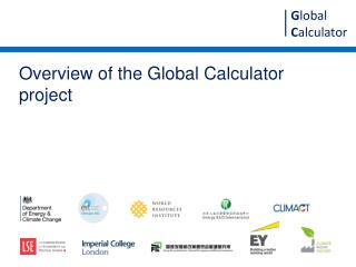 Overview of the Global Calculator project