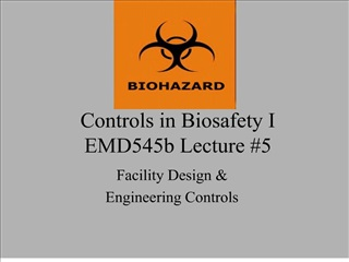 controls in biosafety i emd545b lecture 5