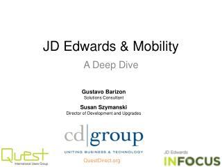 JD Edwards &  Mobility