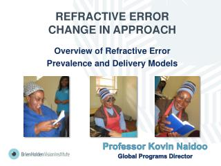 REFRACTIVE ERROR CHANGE IN APPROACH