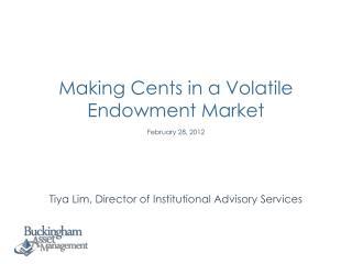 Tiya Lim, Director of Institutional Advisory Services