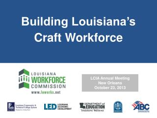 Building Louisiana's Craft Workforce
