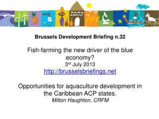 Opportunities  for aquaculture development in the  Caribbean ACP States