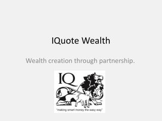 IQuote Wealth