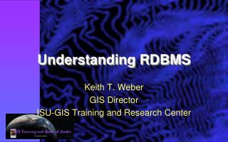 Understanding RDBMS