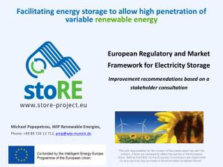Michael Papapetrou, WIP  Renewable Energies ,  Phone : +49 89 720 12  712,  pmp@wip-munich.de
