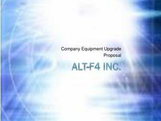 ALT-F4 Inc.