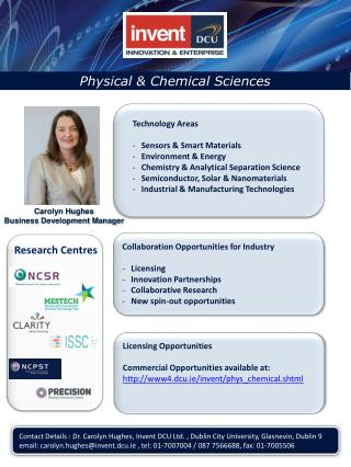 Physical & Chemical Sciences