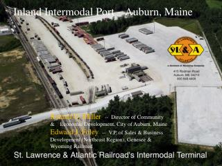 Inland Intermodal Port – Auburn, Maine