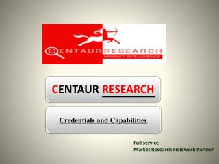 Full service Market R esearch  Fieldwork Partner